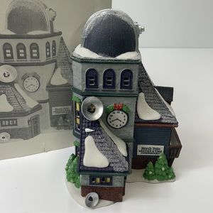 """Department 56""""Weather and time observatory"""" 1995"""